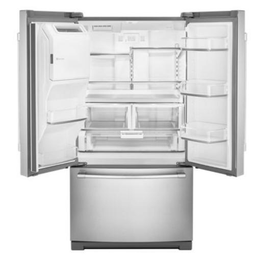Model: MFT2772HEZ | Maytag 36-Inch Wide French Door Refrigerator - 27 Cu. Ft.