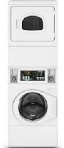 Speed Queen Commercial Stack Electric Washer / Dryer - 240 Volt