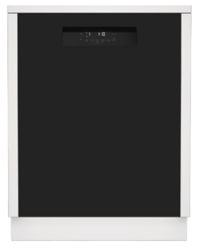 "Model: DWT52600BIH | Blomberg 24"" Tall Tub Front Control Dishwasher"