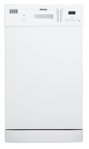 "Danby Danby 18"" White Built-In Dishwasher"