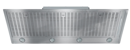 "Miele 44"" Insert ventilation hood with energy-efficient LED lighting"