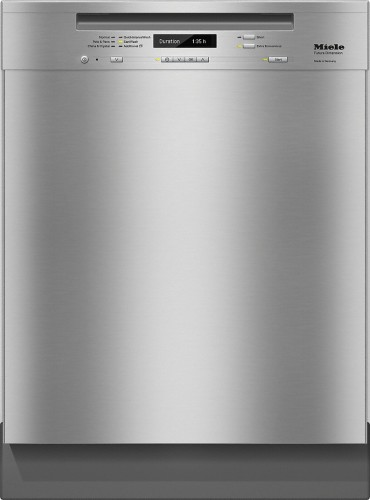 Miele G6745SCUCLST  Pre-finished, full-size dishwasher with visible control panel, 3D+ cutlery tray