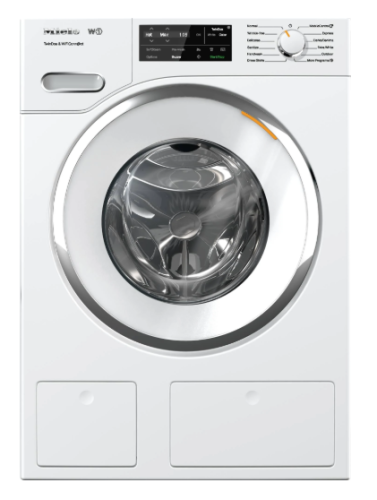 Miele WWH6600 W1 Front-loading washing machinewith TwinDos, CapDosing, and WiFiConn@ct.