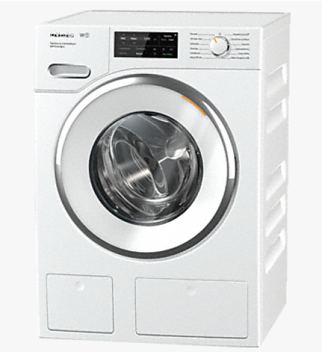 Miele WWH860 W1 Front-loading washing machine with QuickIntenseWash, TwinDos, CapDosing, and WiFiConn@ct.