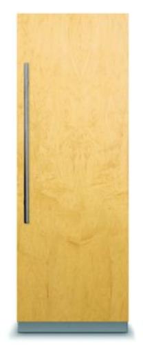 "Viking  24"" Custom Panel Fully Integrated All Freezer"