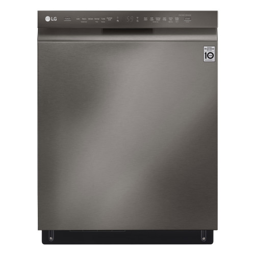 LG Front Control Smart wi-fi Enabled Dishwasher with QuadWash™