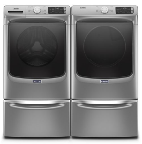 Model: MED8630HC   Maytag Smart Front Load Electric Dryer with Extra Power and Advanced Moisture Sensing Plus - 7.3 cu. ft.