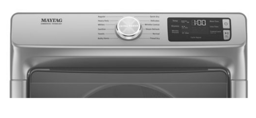 Model: MGD6630HC | Maytag Front Load Gas Dryer with Extra Power and Quick Dry Cycle - 7.3 cu. ft.