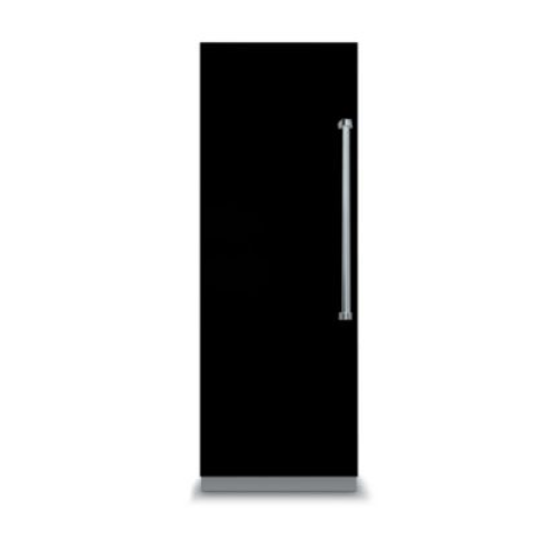 "Viking 7 SERIES 24"" ALL Freezer Left Hand Hinge with White Interior- Black"