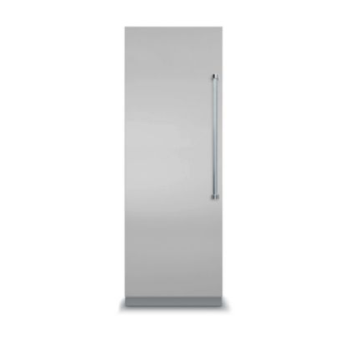 "Viking 7 SERIES 24"" ALL Freezer Left HInge- Stainless  Steel with White Interior)"