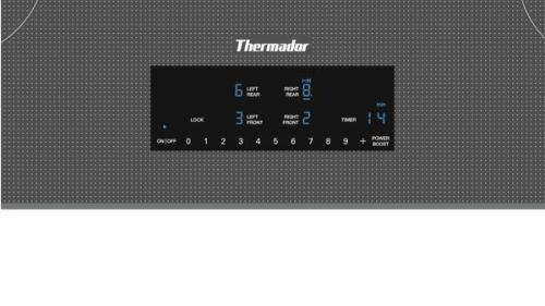 Model: CIT304TM | Thermador 30-Inch Masterpiece® Induction Cooktop, Silver Mirror, Frameless
