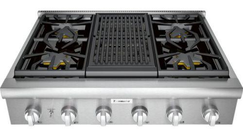 "Model: PCG364WL | Thermador 36"" Professional Series Rangetop PCG364WL"