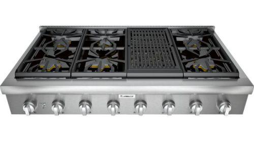 "Thermador 48"" Professional Series Rangetop PCG486WL"