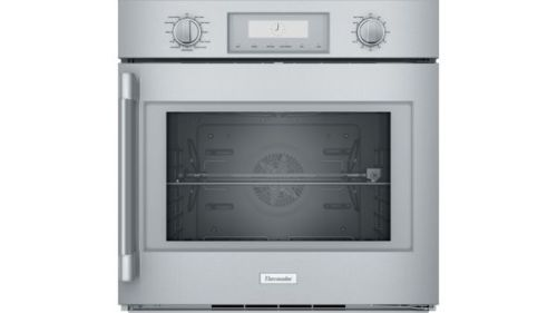 Thermador 30-Inch Professional Single Wall Oven with Right-Side Swing Door POD301RW