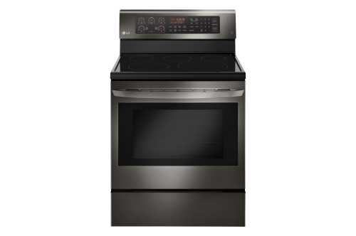 Model: LRE3194BD | LG 6.3 cu. ft. Electric Single Oven Range with True Convection and EasyClean®