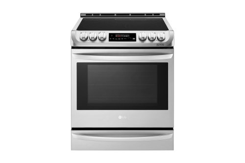 LG 6.3 cu. ft. Smart wi-fi Enabled Electric Slide-in Range with ProBake Convection®