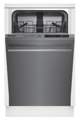 "Blomberg 18"" Slim Tub, Top Control Dishwasher"
