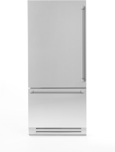 "Bertazzoni 36"" Built-in refrigerator - Stainless - Left swing door"