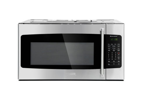 1.7 cu. ft Over the Range Microwave in Stainless Steel with Sensor Cooking