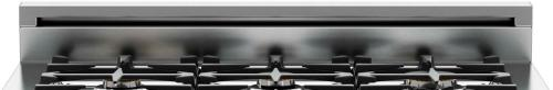 "Bertazzoni 4"" backguard for 30"" Professional and Master Series"