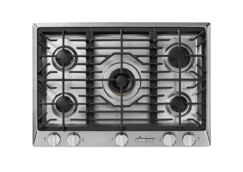 "Model: HCT305GSNG | Dacor Heritage 30"" Gas Cooktop in Stainless Steel, Natural Gas"