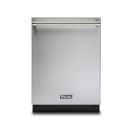 "Viking 24"" Dishwasher w/Installed Professional Stainless Steel Panel"