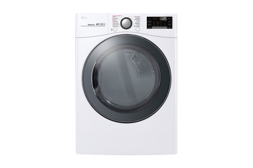 Model: DLEX3900W | LG 7.4 cu.ft. Smart wi-fi Enabled Electric Dryer with TurboSteam