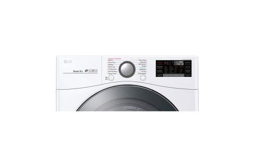 Model: DLGX3901W | LG 7.4 cu.ft. Smart wi-fi Enabled Gas Dryer with TurboSteam