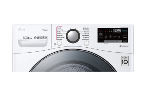 Model: WM3900HWA | LG 4.5 cu.ft. Smart wi-fi Enabled Front Load Washer with TurboWash™ 360 Technology