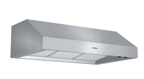 "Model: DPH36652UC | Bosch 800 Series36"" Professional-Style Under-Cabinet Hood, 600 CFM, DPH36652UC, Stainless Steel"