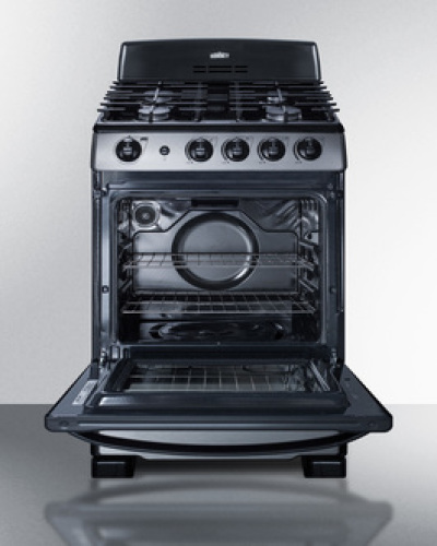 "Model: PRO247SS | Summit 24"" Wide Gas Range"