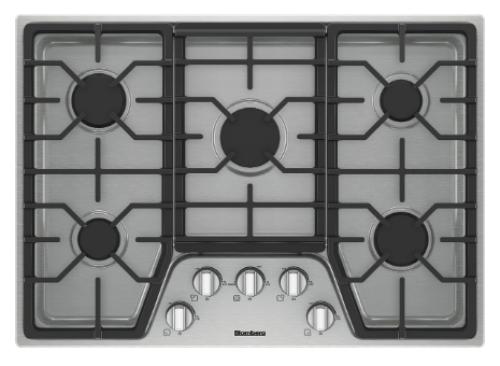 Blomberg 30in gas cooktop, 5 burner