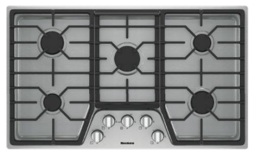 Blomberg 36in gas cooktop, 5 burner