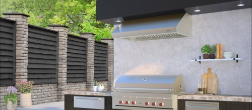 "Model: PW603318O | Wolf 60"" Outdoor Pro Wall Hood"