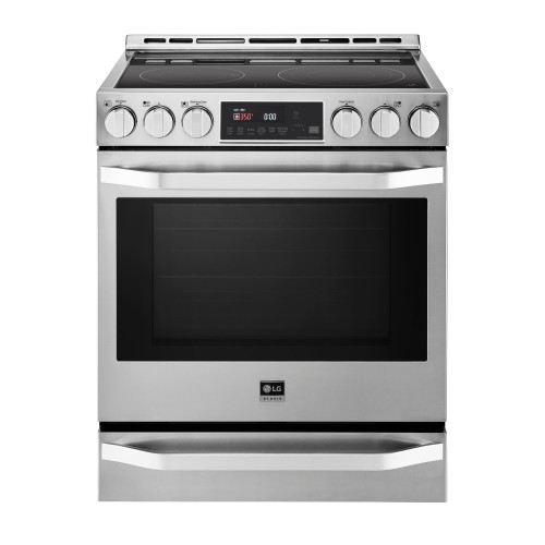 LG Studio  LG STUDIO 6.3 cu. ft. Smart wi-fi Enabled Electric Slide-in Range with ProBake Convection