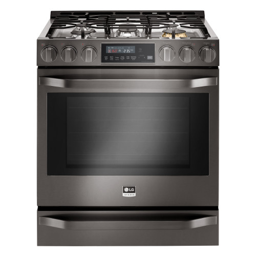 LG LG STUDIO 6.3 cu. ft. Smart wi-fi Enabled Gas Slide-in Range with ProBake Convection
