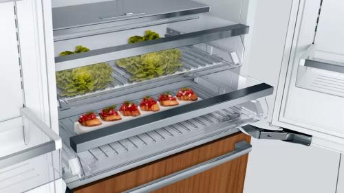 "Model: B36IT900NP | Bosch Benchmark®, 36"" Built-in French Door Refrigerator"