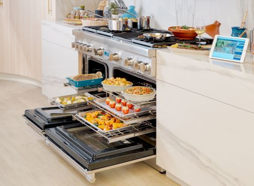 Model: PRD486WLGU | Thermador 48-Inch  Dual Fuel Range with Grill