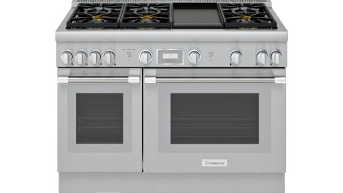 Thermador 48-Inch  Dual Fuel Range with Griddle