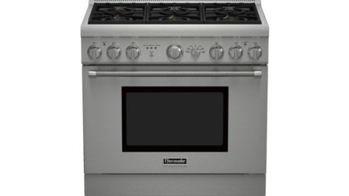 "Thermador 36"" Professional Series Pro Harmony Standard Depth Dual Fuel Range"