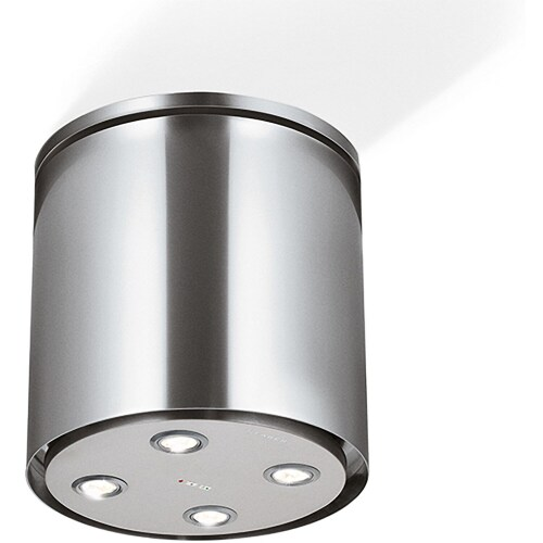 Model: ZOOMIL16SS400   Faber Zoom Isola Island Hood  - with Light Fixture - 400 CFM