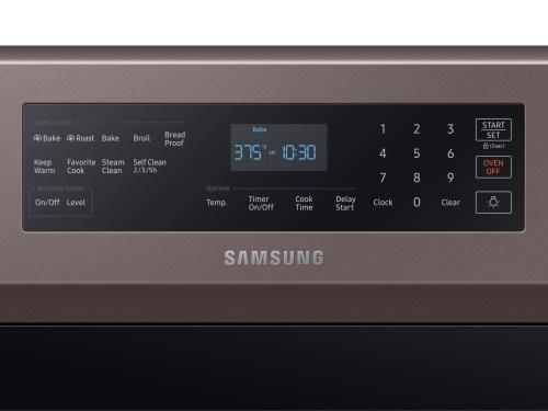 Model: NE59R6631ST | Samsung 5.9 cu. ft. True Convection Freestanding Electric Range