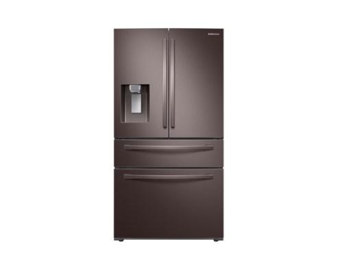 Model: RF24R7201DT | Samsung 24 cu. ft. 4-Door French Door, Counter Depth Refrigerator with FlexZone™ Drawer