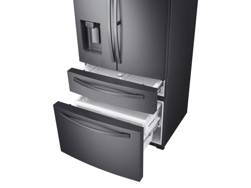Model: RF28R7351SG | Samsung 28 cu. ft. 4-Door French Door Refrigerator with Food Showcase