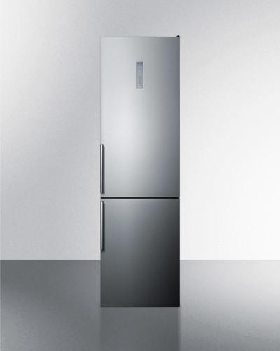 Summit 12.5 cu.ft. Counter Depth Bottom Mount Refrigerator- Left Hand Door