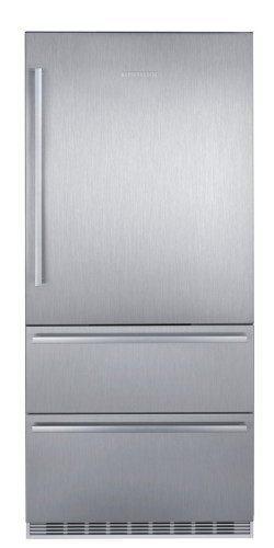 Liebherr 36-Inch Freestanding Refrigerator-Freezer with Left-Hinged Door in Stainless Steel