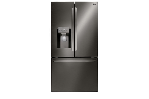 Model: LFXC22526D | LG 22 cu. ft. Smart wi-fi Enabled French Door Counter-Depth Refrigerator