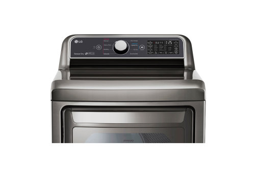 Model: DLE7300VE | LG 7.3 cu. ft. Smart wi-fi Enabled Electric Dryer with Sensor Dry Technology