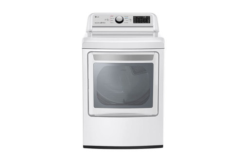 Model: DLE7300WE | LG 7.3 cu. ft. Smart wi-fi Enabled Electric Dryer with Sensor Dry Technology