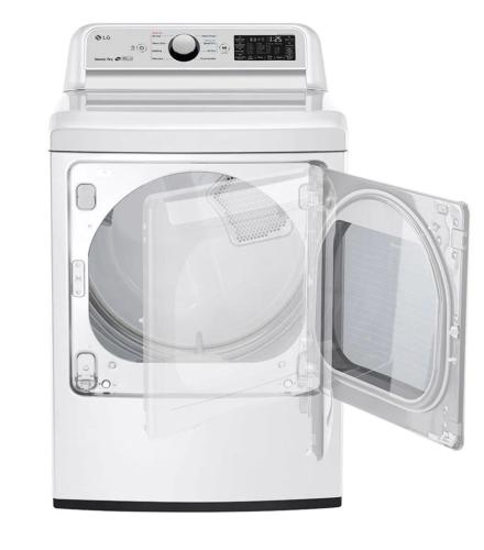 Model: DLG7301WE | LG 7.3 cu. ft. Smart wi-fi Enabled Gas Dryer with Sensor Dry Technology